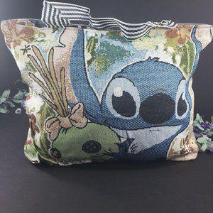 Stitch Canvas Casual Shoulder Tote Bag